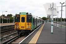 TQ2258 : Tattenham Corner station by Dr Neil Clifton