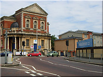 TQ3266 : St James's Road/Whitehorse Road Junction, Croydon by Stephen McKay