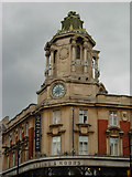 TQ2775 : Arding & Hobbs Clock Tower, Clapham Junction by Stephen McKay