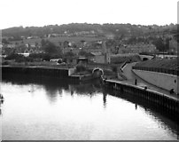 ST7564 : Canal/River junction in Bath by Dr Neil Clifton