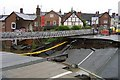 SO5175 : Ludlow Burway Bridge collapse by Mr M Evison