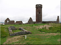 SC2484 : The round tower, Peel Castle by Chris Gunns