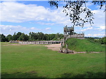 SP3475 : Roman fort at The Lunt, Baginton by E Gammie