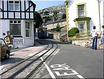 SH7782 : Great Orme Tramway by Dr Neil Clifton
