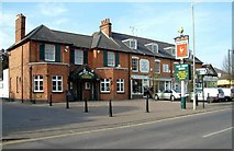SU8363 : Waterloo Place, Crowthorne; the Iron Duke pub by Anthony Eden