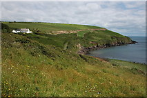 X4698 : Coast below Tankardstown Mine by Philip Halling