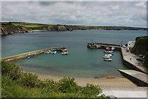 X4798 : Harbour below Dunabrattin Head by Philip Halling