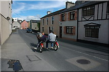 R3350 : A harness-racing cart in Askeaton. by Philip Halling