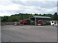 SO6818 : Haulage yard, Longhope by Pauline E
