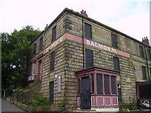 NZ2364 : Derelict Pub by Newbiggin Hall Scouts