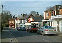 SU8363 : Church Street, Crowthorne by Anthony Eden
