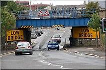 J2664 : Railway bridge, Lisburn (1) by Albert Bridge