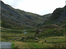 NY2114 : Honister Pass, just above Buttermere by Nick Barker