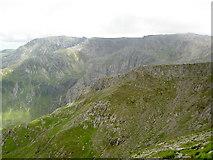 SH6359 : Castell y Geifr ridge by Ian Greig