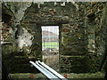 X4698 : View inside one of the buildings at the Tankardstown Copper mine. by Shaun McGuire