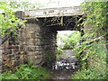 NZ3033 : Disused Rail Bridge by Donald Brydon