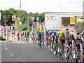 TQ4178 : Tour de France at Charlton by Stephen Craven