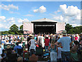 SP3517 : Crowds at the Cornbury Music Festival by Pauline E