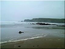 X5398 : Kilfarrasy Cove, Waterford (in the rain) by Shaun McGuire