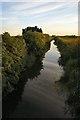 TL6278 : Drainage ditch at Isleham Fen by Bob Jones
