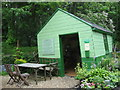 NY8261 : The Leaning Shed at Langley Garden Station by Mike Quinn