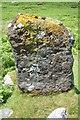 NG6116 : Boreraig Standing Stone by John Allan