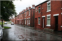 SD8912 : Osborne Street, Rochdale, Lancashire by Dr Neil Clifton