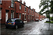 SD8912 : Osborne Street, Rochdale, Lancashire: looking south by Dr Neil Clifton