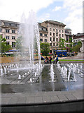 SJ8498 : Piccadilly Gardens by David Seale