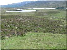 NN6968 : Loch Cruin and Loch Con by Chris Wimbush