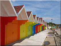 TA0390 : Beach Huts by Stephen McCulloch