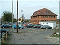 TQ3966 : Hayes Station Approach Car Park by Neil Reddin