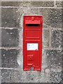 NZ0161 : Victorian postbox on Riding Mill Station by Mike Quinn