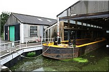 SK7953 : Newark Boatbuilders by Richard Croft