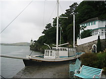 SH5837 : Concrete Boat by Portmeirion Hotel by Keith Burroughs
