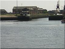 NZ4057 : Entrance to Sunderland Docks by rob bishop