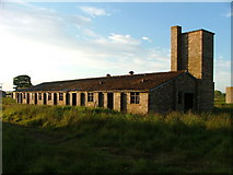 NH8577 : Another abandoned WW2 building near Fearn by Steven Brown