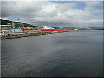 SS6692 : Prince of Wales Docks Development by Andrew Davis