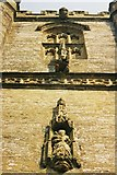ST6601 : Cerne Abbas church: tower detail by Chris Downer