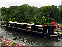 SU5980 : Lock at Boatkeeper's House: Goring by Pam Brophy