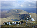 NH2071 : View south east from Sgurr Mor by Nigel Brown