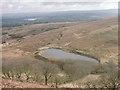 ST2798 : Pond at Cwm Lickey by Peter Ribbans