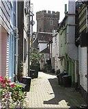 SX2553 : Narrow Lane by Mike Smith
