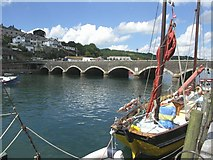 SX2553 : Looe Bridge by Mike Smith