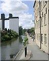 SE1422 : Canal Side Walk - Calder & Hebble Navigation by Betty Longbottom