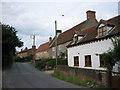 TG2332 : Suffield village street by Zorba the Geek