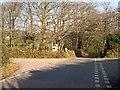 SW7845 : Minor Road Junction north of Threemilestone by Tony Atkin