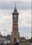 TF5663 : The Clock Tower at Skegness by margaret carter