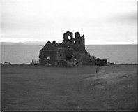 NS2515 : Dunure Castle, Ayrshire by Dr Neil Clifton