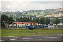 J4972 : Newtownards aerodrome by Albert Bridge